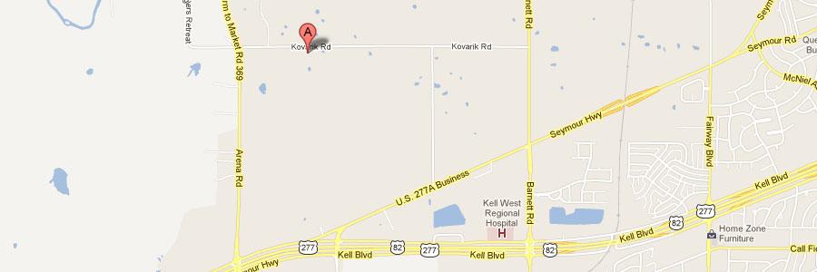 LoneStar Mini TexAsses Map